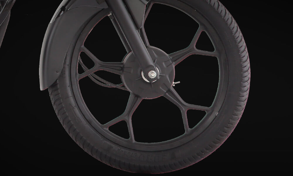Bajaj Discover 110cc  Motorcycle Spider Mag Wheels