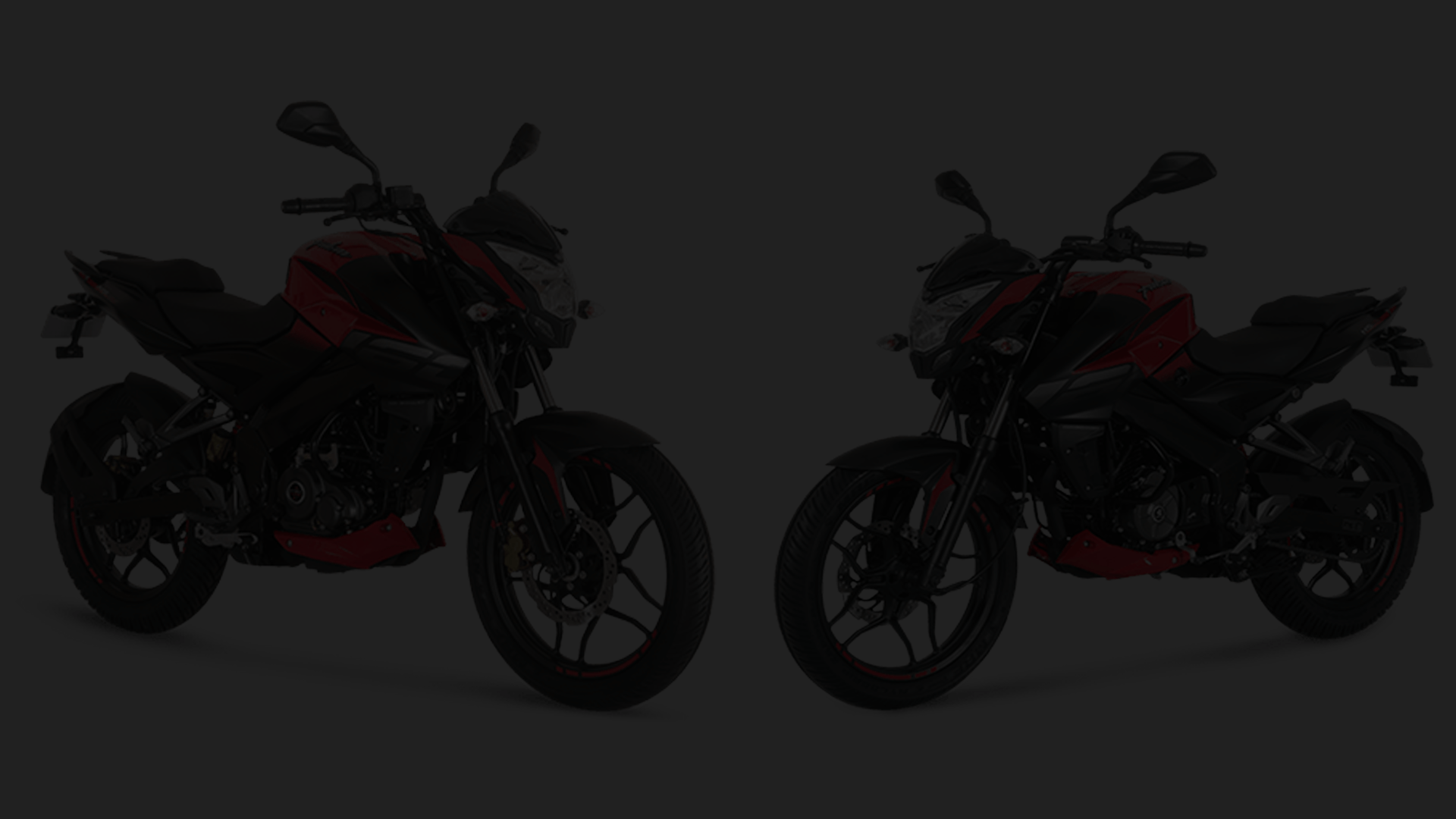 Pulsar NS 160 FI ABS dark background