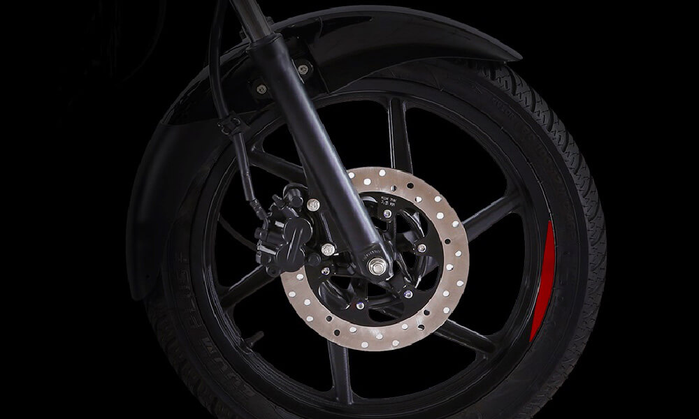 Bajaj Pulsar 150cc Neon Motorcycle Front Tyre and Wheels
