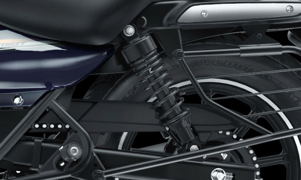 Twin Fork Suspension And Rear Shock Absorber