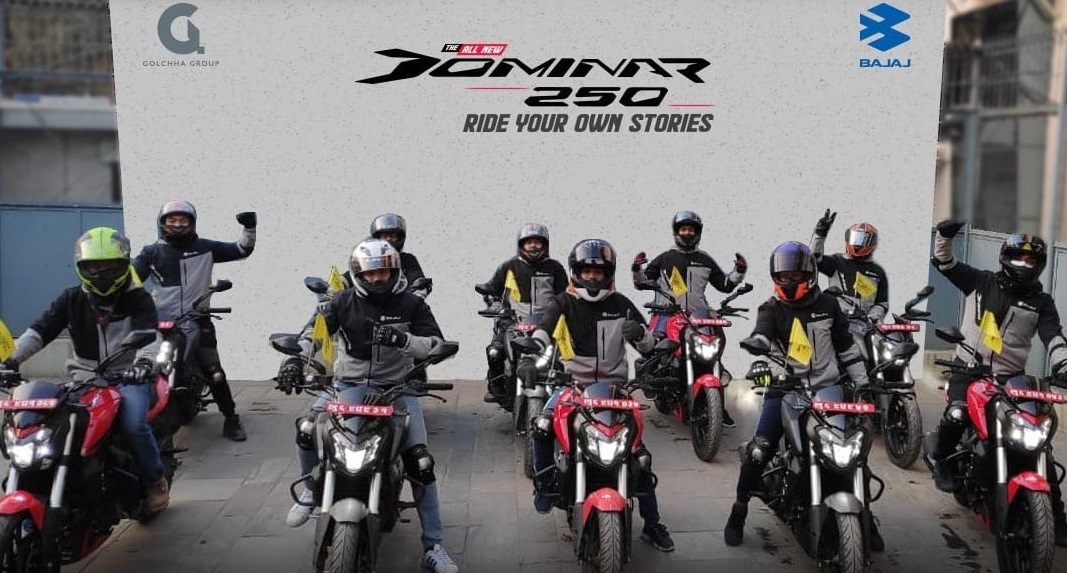Dominar Destination Sukute Ride