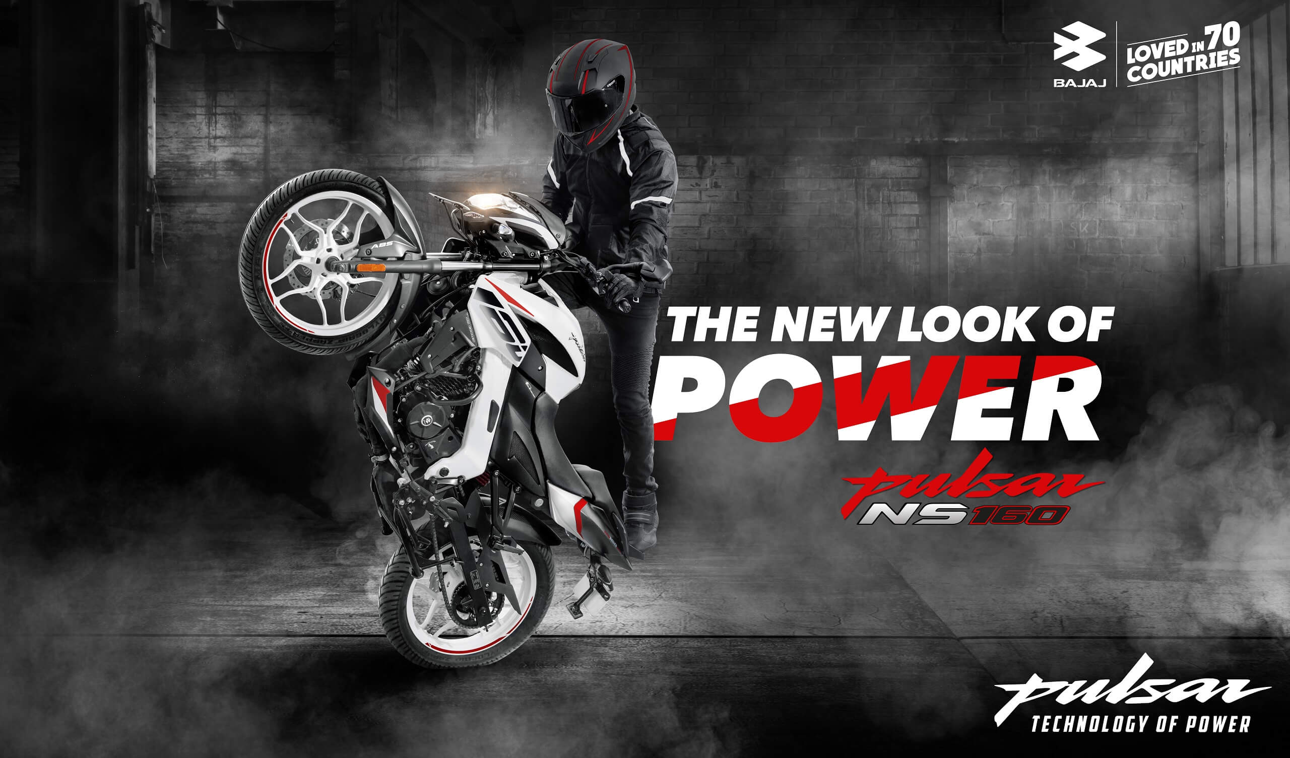 Pulsar NS 160 ABS - More Power Better Play