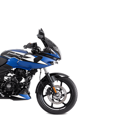 Pulsar 220F ABS Blue mobile
