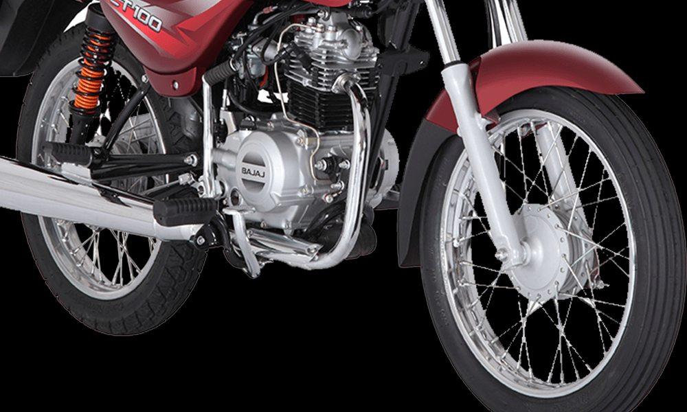 Hydraulic Telescopic Fork and SNS Rear Suspension