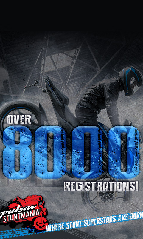 Stuntmania registration has been closed. Thank you for the support