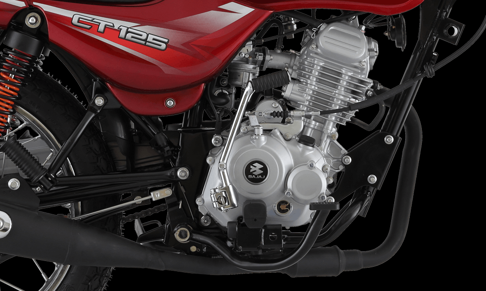 4Stroke 125cc Natural AirCooled Engine with 5Speed Gear Box