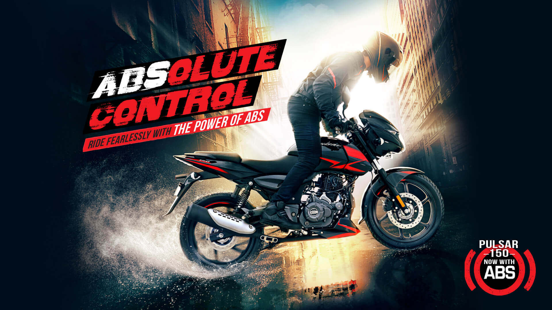 Bajaj Pulsar 150 Twin Disc - Now with ABS for Absolute Control